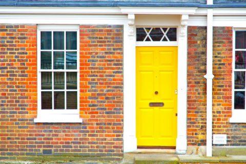 Qu'est-ce qu'une porte d'entrée pleine ?