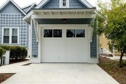 Zoom sur les portes de garage